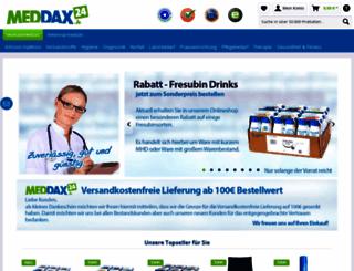 meddax.com screenshot