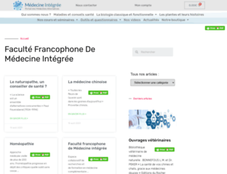 medecine-integree.com screenshot