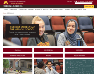 meded.umn.edu screenshot