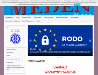 meden.gliwice.pl screenshot