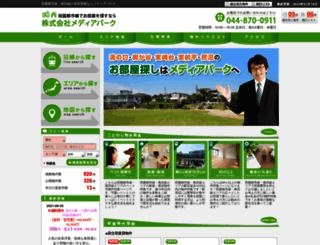 media-park.co.jp screenshot