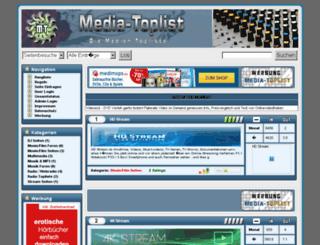 media-toplist.de screenshot