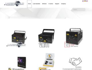 media.laserworld.tv screenshot
