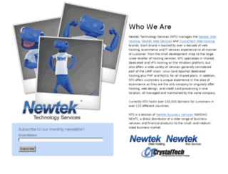 media.newtektechnologyservices.com screenshot