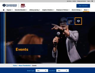 media.thunderbird.edu screenshot