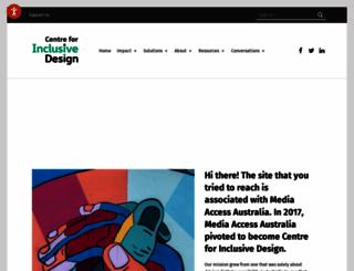 mediaaccess.org.au screenshot
