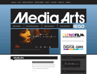 mediaartscenter.org screenshot