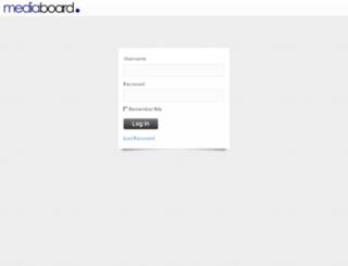 mediaboardonline.com screenshot