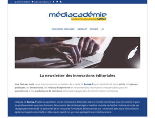 mediacademie.org screenshot