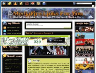 mediafirelinksforyou.com screenshot