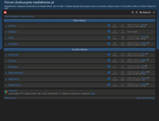 mediahorse.pl screenshot
