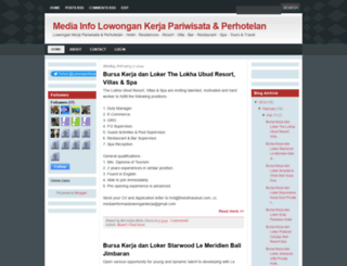 mediainformasilowongankerja.blogspot.com screenshot
