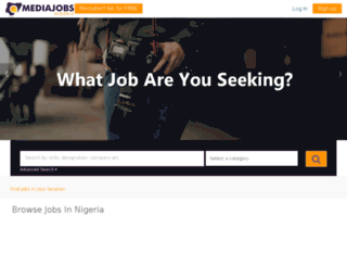 mediajobsng.com screenshot