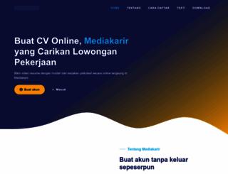 mediakarir.com screenshot