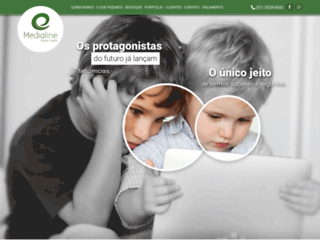 medialine.com.br screenshot