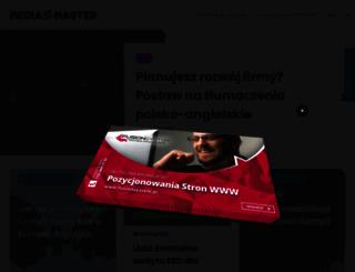 mediamaster.com.pl screenshot