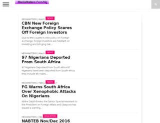 mediamatters.com.ng screenshot