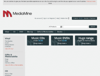 mediamine.com screenshot