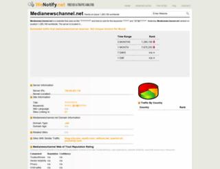 medianewschannel.net.wenotify.net screenshot