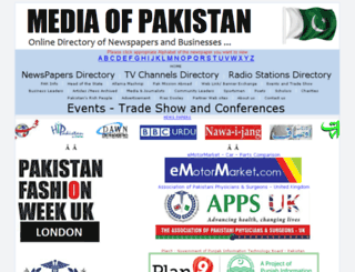 mediaofpakistan.com screenshot