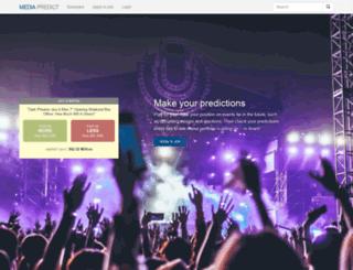 mediapredict.com screenshot