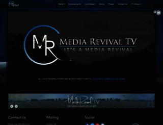 mediarevivaltv.com screenshot