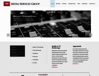 mediaservicesgroup.com screenshot