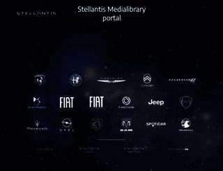 mediatheque.peugeot.com screenshot