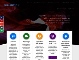mediatisse.com screenshot