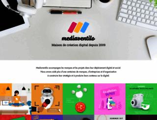 mediaventilo.com screenshot
