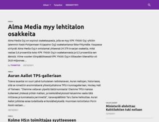 mediaviikko.fi screenshot