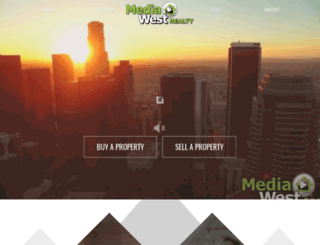 mediawestrealty.com screenshot
