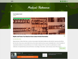 medical-reference.net screenshot