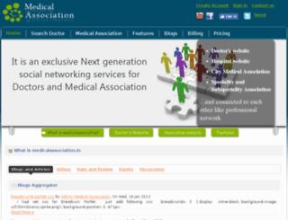 medicalassociation.in screenshot