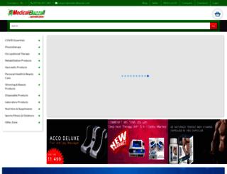 medicalbazzar.com screenshot