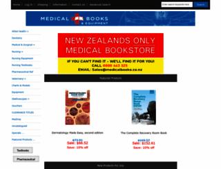 medicalbooks.co.nz screenshot