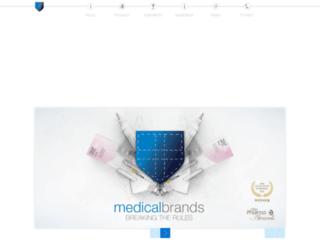 medicalbrands.com screenshot