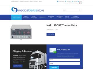 medicaldevicestore.com screenshot