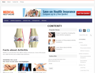 medicalhelponline.net screenshot