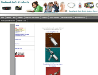 medicalinfoproducts.com screenshot