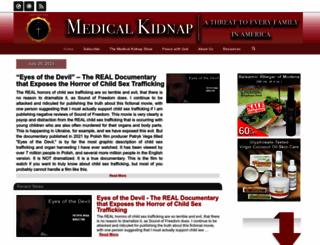 medicalkidnap.com screenshot