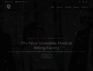 medicallienmgt.com screenshot
