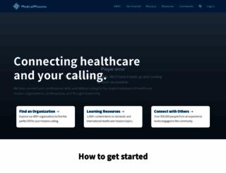 medicalmissions.com screenshot