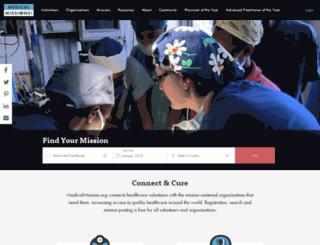 medicalmissions.org screenshot