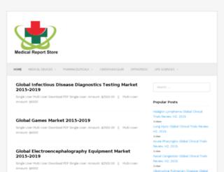 medicalreportstore.com screenshot