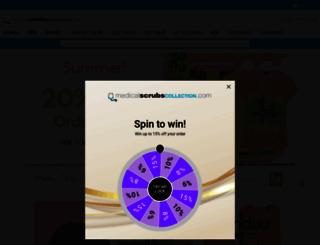 medicalscrubscollection.com screenshot