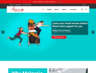medicaltourism.com.my screenshot