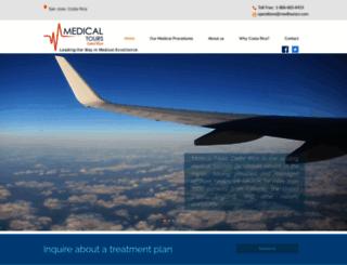 medicaltourscostarica.com screenshot