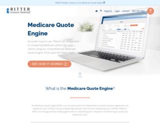 medicarequoteengine.com screenshot