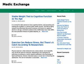 medicexchange.com screenshot